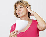 Women who experience more hot flashes, particularly while sleeping, during the menopause transition are more likely to have brain changes reflecting a higher risk for cerebrovascular disease, such as stroke and other brain blood flow problems,