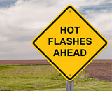 SWAN study findings about hot flashes was recently published in the New York Times diminishing the myth that hot- flashes last for only a few years.